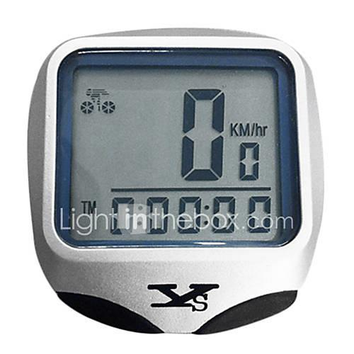 MB-468 Bike Computer/Bicycle Computer Stopwatch Waterproof Wireless Freeze Frame Memory Auto On/Off Scan SPD - Current Speed