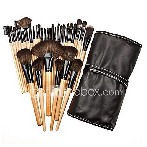 32pcs Makeup Brushes Professional Makeup Brush Set Nylon / Synthetic Hair / Artificial Fibre Brush Big Brush / Middle Brush / Small Brush