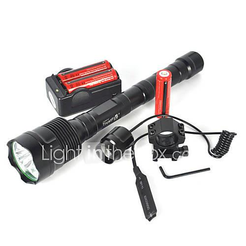 LED Flashlights / Torch / Diving Flashlights / Torch / Handheld Flashlights / Torch LED 6000 lm 3 Mode Camping / Hiking / Caving / Everyday Use / Diving / Boating Black