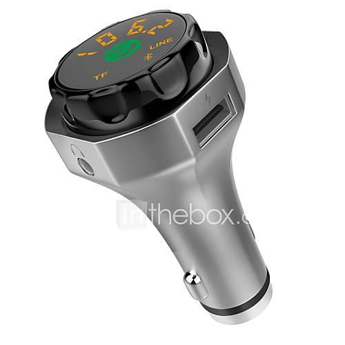 NEW Bluetooth 4.2 Fm Transmitter Car Display USB Car Charger Car Kit Bluetooth Mp3 Music Player