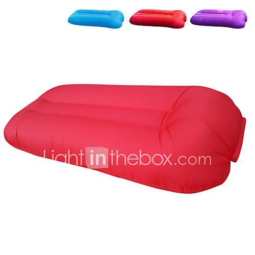 Inflatable Sofa Sleep lounger / Air Sofa / Air Bed Outdoor Fast Inflatable / Portable / Waterproof Polyester Taffeta 219050cm Beach /