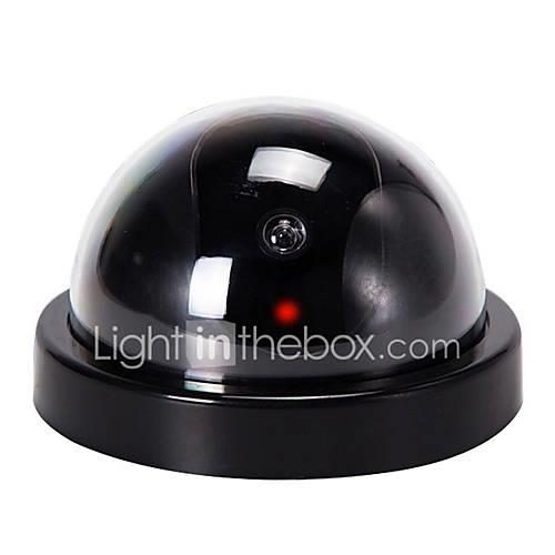 VESKYS simulation surveillance camera, with red flash, fake camera 1mp IP Camera Indoor with Prime 0GB