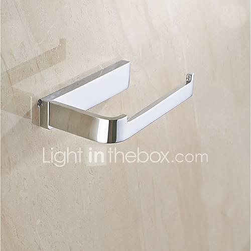 Toilet Paper Holder Multifunction Contemporary Brass 1pc - Bathroom Wall Mounted