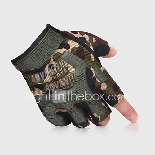 Gloves / Climbing Gloves / Sports Gloves Climbing / Cycling / Bike / Police / Military Shock Resistant / Adjustable Size / Breathable