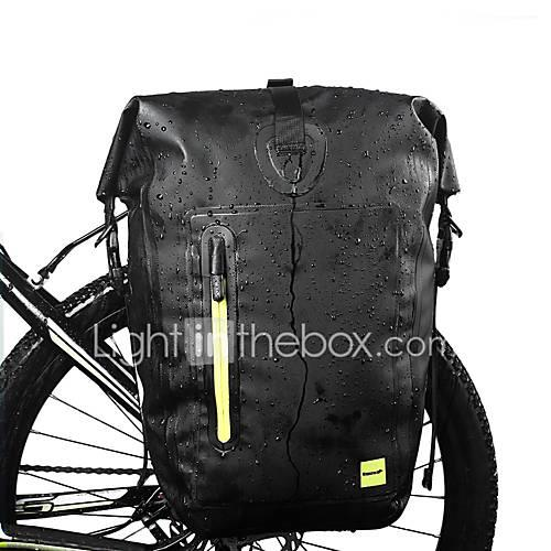 25 L Bike Panniers Bag Waterproof, Moistureproof, Compact Bike Bag Bicycle Bag Cycle Bag Cycling / Reflective Strips