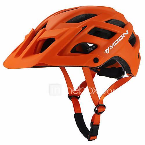 MOON Adults' Bike Helmet 22 Vents Sports Outdoor Exercise - Orange / Green / Blue Men's