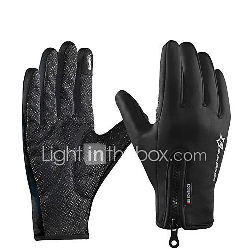 ROCKBROS Full Finger Unisex Motorcycle Gloves Polyster Waterproof / Keep Warm / Breathable