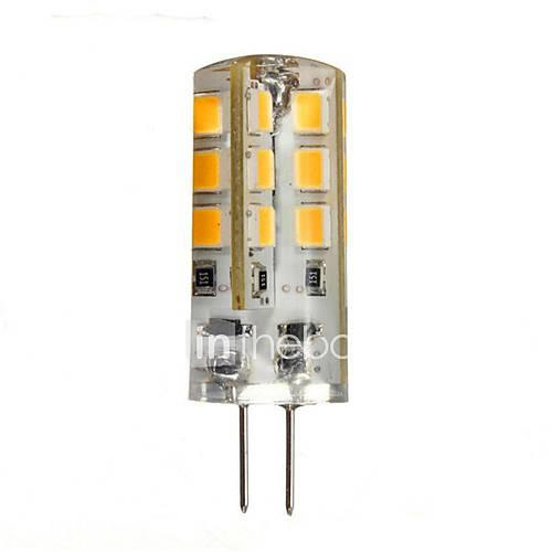 Image of 1.5W 130-150lm G4 LED Bi-pin Lights 24 LED Beads SMD 2835 Warm White 12V / CE / RoHS