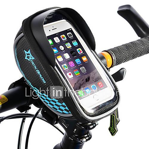 ROCKBROS Cell Phone Bag / Bike Frame Bag Touch Screen, Waterproof, Lightweight Bike Bag TPU / EVA / Polyster Bicycle Bag Cycle Bag Cycling Bike