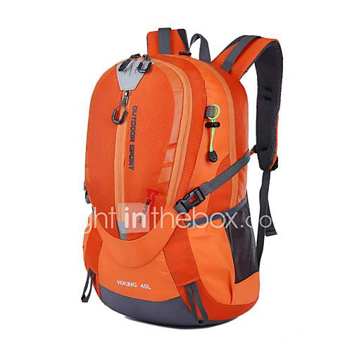 25 L Hiking Backpack - Moistureproof, Quick Dry, Dust Proof Outdoor Swimming, Camping / Hiking, Fishing Polyester, Nylon Red, Green, Blue