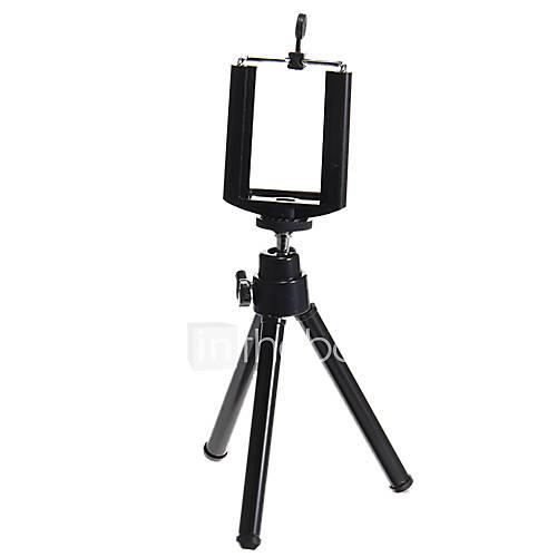 Black Adjustable Tripod for Cellphone