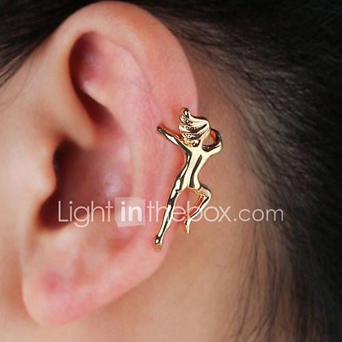 Women's Sculpture Clip Earrings / Ear Cuff - Creative Simple, Cartoon, Hip-Hop Gold / Silver For Party / Evening / Going out / Club