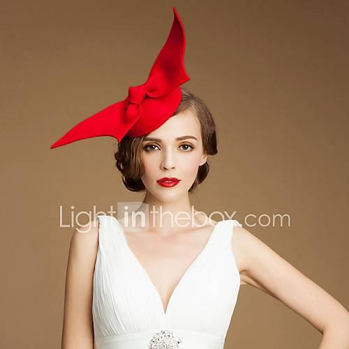 Fashionable Wool Girls Party/Outdoor/Wedding Hats With Angel Wings(More Colors)