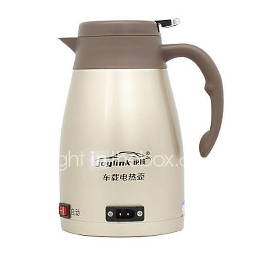 Image of 1.2L Stainless steel Car Electric Kettle Low Noise/User-friendly design/Overheat Protection/Portable Electric Kettle