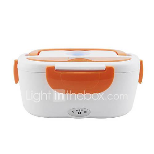 Image of 1.5L Car Electric lunch box Underpan Heating Low Noise Food Warmer Container for Home Office School Traveling Use 12V