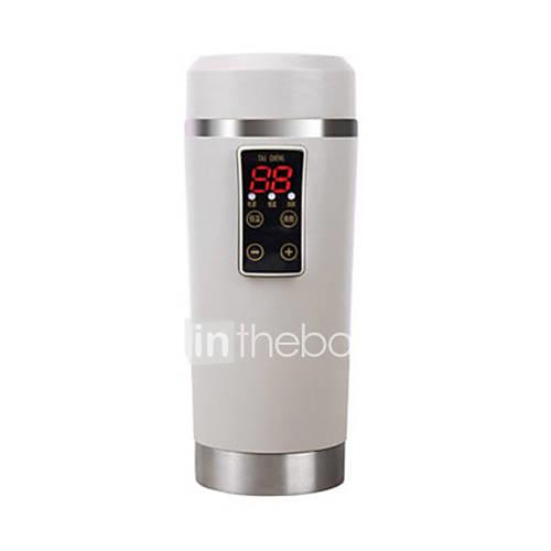 Image of 0.32L Stainless steel Car Vacuum Cup Low Noise/Intelligent temperature control/Digital display panel 12/24V