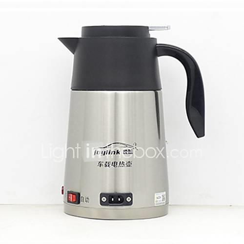 Image of 1.2L Stainless steel Double Wall Car Electric Kettle One button switch/Non-slip handle/automatic power-off