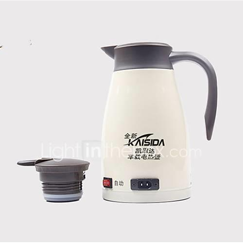 Image of 1.3L Stainless steel Car Electric Kettle Portable/Low Noise Suitable for car truck