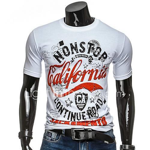 Men's T-shirt - Letter White L