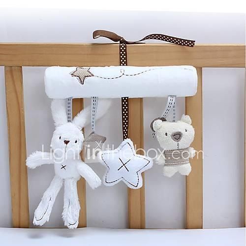 Rabbit Creative Stuffed Animal Plush Toy Cute Adorable Cotton / Polyester Flannel Toy Gift 3 pcs