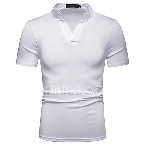 Men's T-shirt - Solid Colored White L
