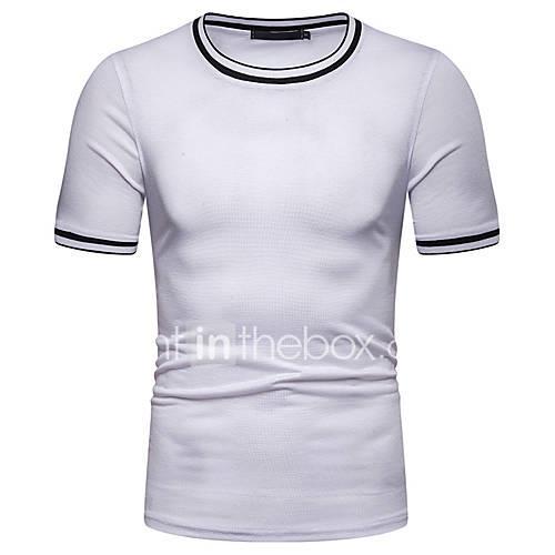 Men's T-shirt - Solid Colored Navy Blue L
