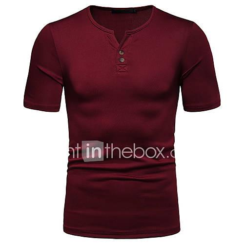 Men's T-shirt - Solid Colored Black L