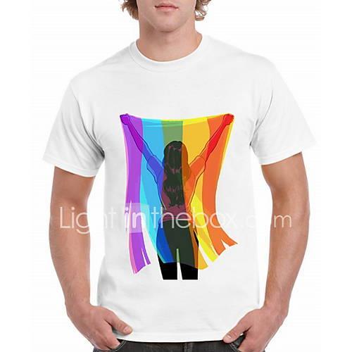 Men's T-shirt - Cartoon White XL