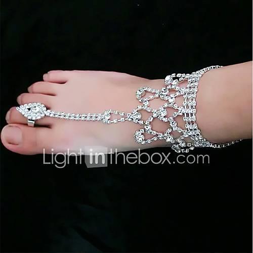 1 Piece Rhinestones Decorative Accent Unisex Spring Wedding / Daily Silver