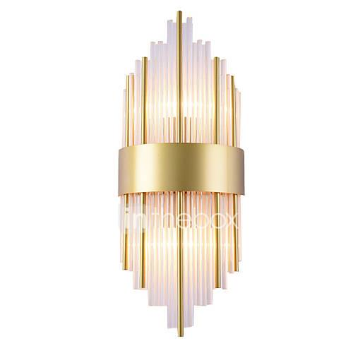 JSGYlights Crystal / New Design Simple / Modern Contemporary Wall Lamps  Sconces Living Room / Bedroom Metal Wall Light 110-120V / 220-240V 60 W