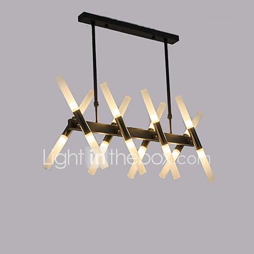 QINGMING Mini Chandelier Ambient Light Electroplated Painted Finishes Metal Mini Style 110-120V / 220-240V Warm White / Cold White