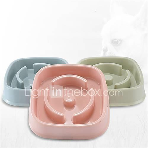 Image of 0.35 L Dogs / Cats / Pets Feeders Pet Bowls Feeding washable / Durable Random Color