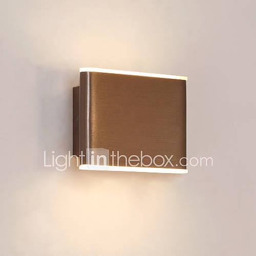 CONTRACTED LED Mini Style / Cool Simple / Modern Contemporary Flush Mount wall Lights Bedroom / Indoor Metal Wall Light IP20 110-120V / 220-240V 4 W