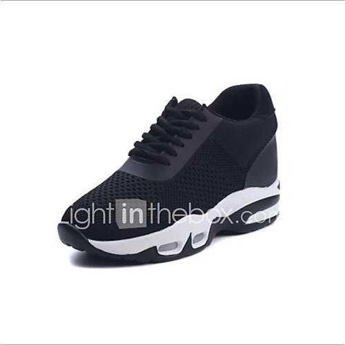 Women's Tissage Volant Spring  Summer Athletic Shoes Flat Heel White / Black