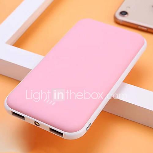 Image of 10000 mAh For Power Bank External Battery 5 V For 2.1 A For Battery Charger with Cable LED