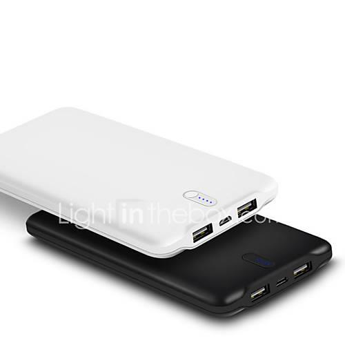 Image of 10000 mAh For Power Bank External Battery 5 V For 2.4 A For Battery Charger Automatic Adjusted Current LED