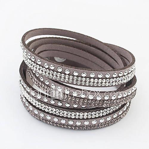 Women's Wrap Bracelet Fashion European Rhinestone Alloy Jewelry Daily