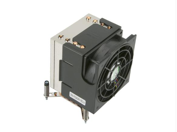 Image of Supermicro Active Cpu Heat Sink W/ A Side-mount Fan For Intel Socket H Series Motherboards - Suits 5029c-t