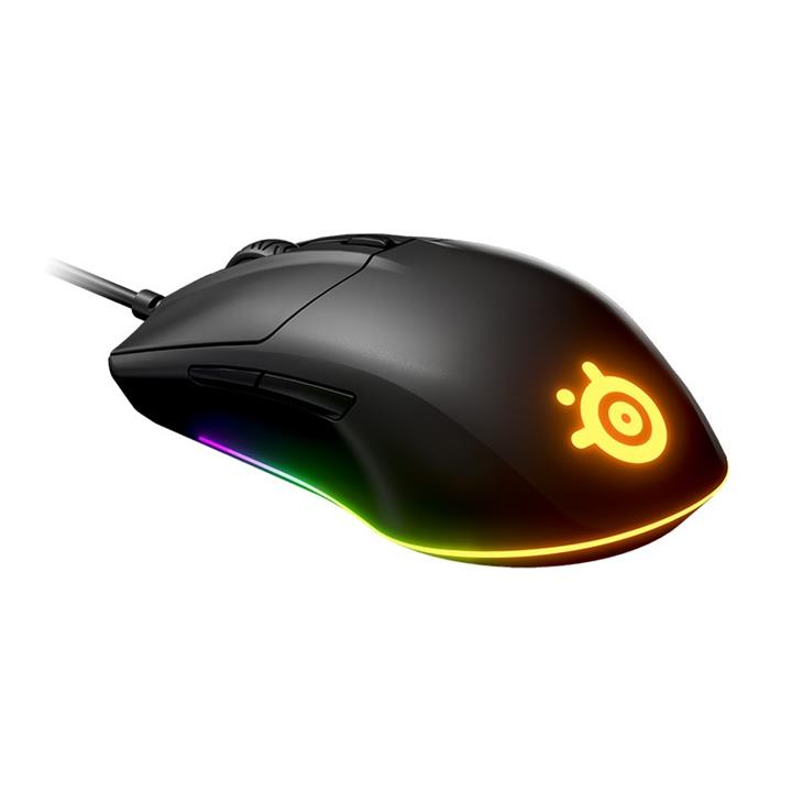 Image of Steelseries Rival 3 Wired Optical Rgb Gaming Mouse 62513