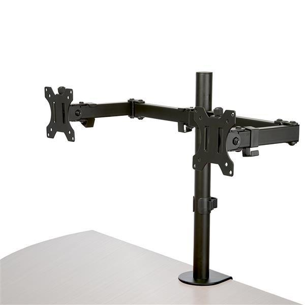 Image of Startech Desk Mount Dual Monitor Arm - Crossbar - Articulating - Steel Armdual2