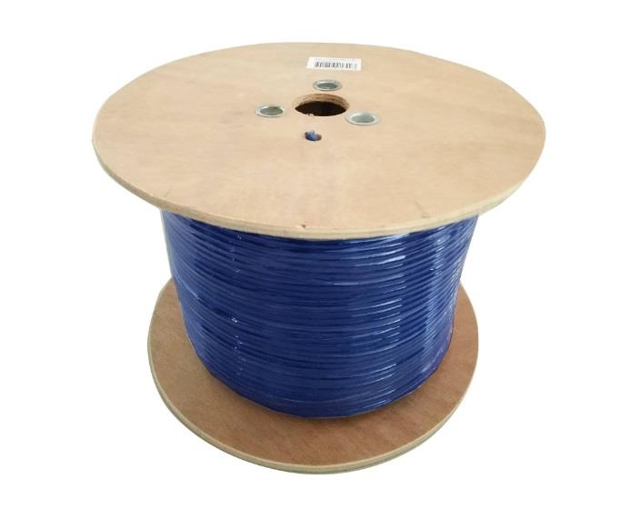 Image of 8ware Cat6 Cable Roll 350m Blue Bare Copper Twisted Core Pvc Jacket