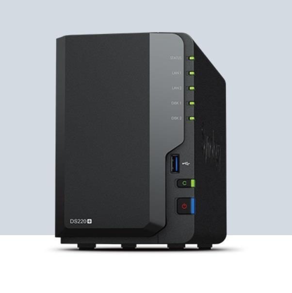 Image of Synology Diskstation Ds220+ 2-bay Nas Enclosure