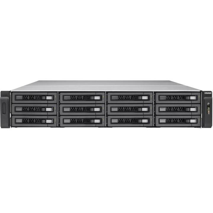 Image of Qnap Tes-1885u-d1531-16gr 18 Bay Rackmount Diskless Nas - 6 Core Cpu 16gb Ram