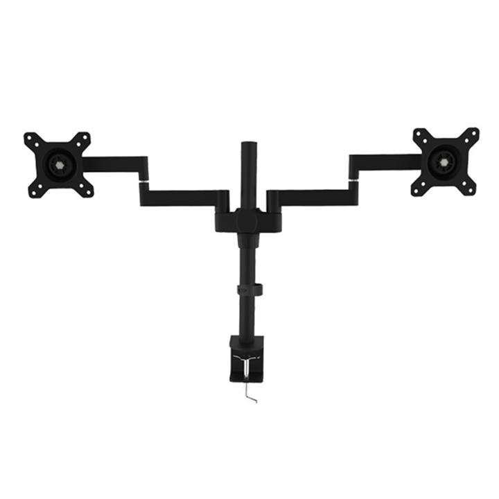 """Image of Vision Mounts Dual Lcd Monitor Extendable Arm Desk Mount 13""""-27"""" Vm-d24"""