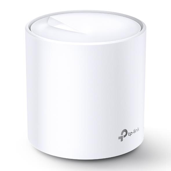 Image of Tp-link Deco X60 (1-pack) Ax3000 Whole Home Mesh Wi-fi 6 System (wifi6), Up To 260sqm Coverage, Wpa3, Tp-link Homecare, Ofdma, Mu-mimo