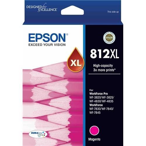 Image of Epson 812xl - High Capacity Durabrite Ultra - Magenta C13t05e392