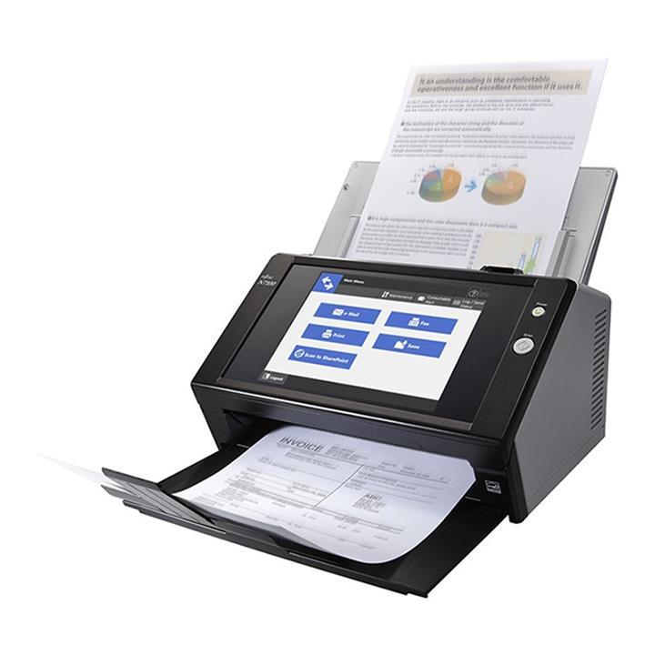 Image of Fujitsu Scansnap N7100e A4 Document Scanner