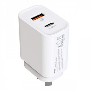 Image of Teq Pd18w + Qc 3.0 Fast Charger Dual Adapter