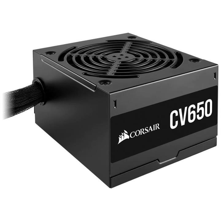 Image of Corsair 650w Cv Series Cv650 V2 80 Plus Bronze Certified Power Supply Unit Psu