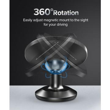 Image of Ugreen 60316 Alloy Magnetic Dashboard Car Mount - Space Gray